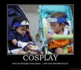 cosplaying