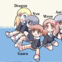 Me, Wren, Dragon, Nyu, and Ani