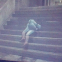 i tripped over a stair XD