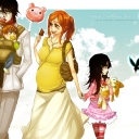 ulquiorra family so cute