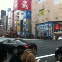 It was cold that day, but it was worth it to walk in the Holy Land itself, Akihabara!